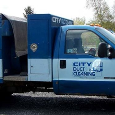duct cleaning truck